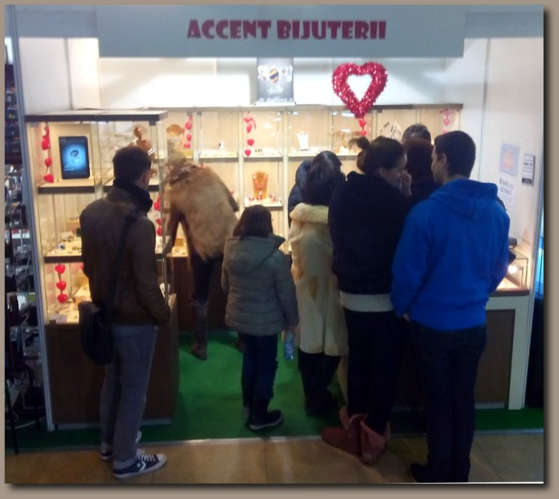 Accent Bijuterii la Valentine's Day Fair 2014 - Galeria Dalles